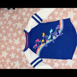 Cat & jack 3/4 sleeve girls shirt-used size 6-6x